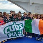 Cubs safe home from Dublin