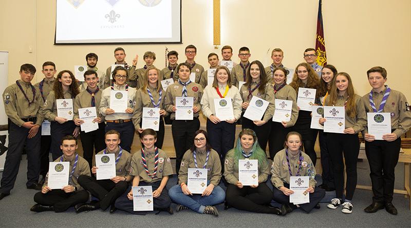 Latest Explorer Scout Awards